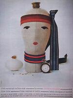 PUBLICITÉ DE PRESSE 1962 LA CRAVATE RHODIA COLLEGE - ADVERTISING