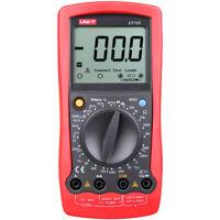 Automotive Multimeter UNI-T UT105 LCD DMM ACV/DCV Tester Tach Dwell RPM  OHM Tes