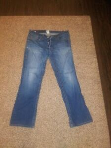 True Religion Marco Jeans Sz 34 x 33 Made In USA
