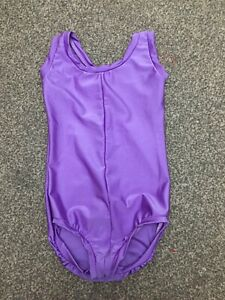 Lilac Lycra Leotard Size 1B, to fit child age 6-7 years