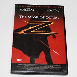 The Mask of Zorro Antonio Banderas Anthony Hopkins Catherine Zeta-Jones Widescrn