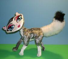 "Bratz Petz Black n White Poseable Kitten Kitty Cat Plush Stuffed Animal Doll 10"""