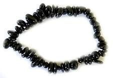 Turmalin Armband, Schwarzer Turmalin (Schörl) Splitterarmband Edelsteinarmband