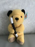 """SOOTY & SWEEP SOOTY 12"""" WITH WAND PLUSH BEANIE SOFT TOY BY WHITEHOUSE LEISURE"""