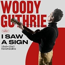 Woody Guthrie - I Saw A Sign: 1940-1947 Recordings [New CD] Rmst, With Book, Spa