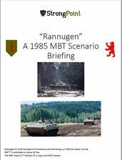Ambush at Rannagun:  A GMT MBT Battle Expansion