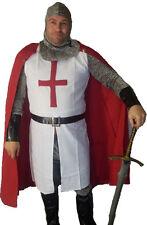 ST George English TEMPLARS CAVALIERI chain mail Costume