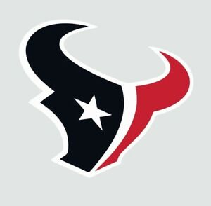 Houston Texans NFL Football Color Logo Sports Decal Sticker - Free Shipping
