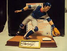 NY Mets Mike Piazza Hand-Signed Figurine w/ Certificate of Authenticity