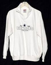 Cadre Athletic Dallas Cowboys Cuddly Fleece Lining Mens 1/2 Zip Sweatshirt Sz L