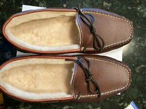 Men's Slippers--LL Bean, New in box