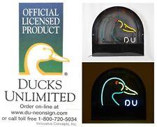 Rare & Official! Ducks Unlimited Large Neon Light Sign Beer Man Cave Vtg