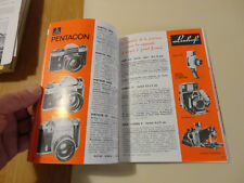photo cine son  catalogue KODAK leica nikon zeiss ikon