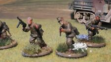 28mm Waffen SS Panzer Grenadier Squad comprising 10 figures #B