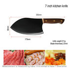 7 Inch Cleaver Butcher Knife Stainless Steel Full Tang Chopper Kitchen Knives
