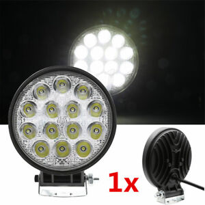 "1x 4.5"" 70W LED Work Spot Light Disk Bumper Roof Head Fog Offroad Truck SUV Lamp"