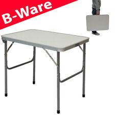 B-Ware Campingtisch aus Aluminium Klapptisch Widerstandsfähiger MDF-Tischplatte