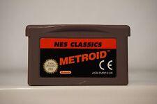 Metroid Nes Classics gameboy advance game boy GBA nintendo original 2869