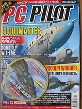 PC Pilot September October 2016 Cloudmaster PMDG DC-6 Aerofly FS 2 Falcon 7X