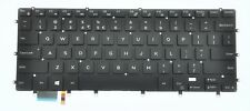 Genuine Dell XPS 15 9560 US International QWERTY Backlit Keyboard WDHC2