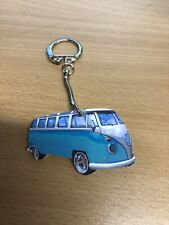 MID BLUE VW CAMPERVAN KEYRING NEW GIFT T5 T6 T4
