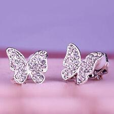 Diamant Mode-Ohrschmuck mit Strass-Perlen für Damen