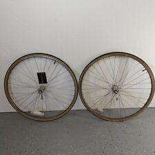 VTG Suzue Sealed Tech Hubs, bronze ano Araya 700c rims wheelset