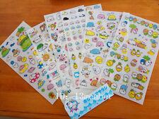 6 sheet Mamegoma calendar diary planner notebook decorative stationery sticker