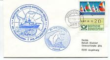 1982 Deutsche Antarktis Expedition Polarbjorn Polarstern Norway Antarctic Cover