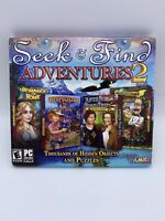 GARDENSCAPES Fishdom Antique Road Hidden Object 4 PACK + BONUS PC Game NEW!!!