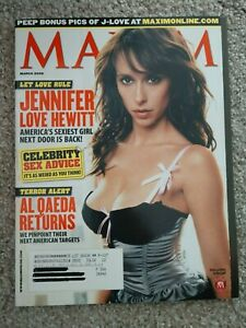 Maxim March 2005 Jennifer Love Hewitt