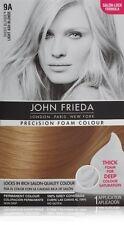 John Frieda Precision Foam Hair Dye Colour Lt Ash Blonde 9A  Salon quality Color