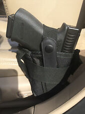 Vehicle Carry Truck Car Seat Handgun Conceal Pistol Holster Ambidextrous Med/Lg