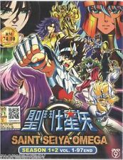 DVD Saint Seiya Omega Season 1 + 2 (Vol 1-97) + Free Gift + Free Ship