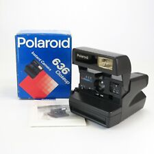 Polaroid 636 CloseUp Instant Camera w/ Strap, Manual and Original Box - Tested
