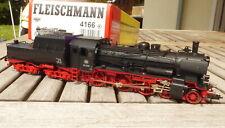 Fleischmann 4166 H0 Dampflok BR 38 2208 mit Wannentender DB Epoche 3, mit DSS