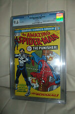 CGC 9.6 NM+ AMAZING SPIDER-MAN 129 EURO VARIANT PUNISHER WHITE PAGES YOP 2000
