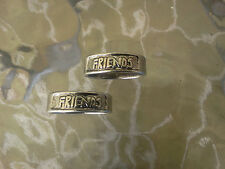 BOYS & GIRLS HIS or HERS 2 BEST FREINDS FRIENDSHIP RINGS All NEW.