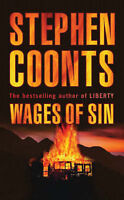 """VERY GOOD"" Wages of Sin, Coonts, Stephen, Book"