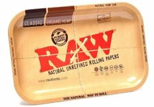 RAW-Papers Brand Vintage Style METAL~Small Rolling Tray 7x11