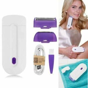 Women Rechargeable Hair Remover  Epilator Instant&Pain Free Touch Light Sensor
