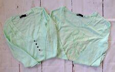 $69 Fox Racing Women's Long Sleeve Shirts (two pieces) - Mint Color sz M