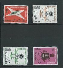 SOMALIA , UN , WORLD AGAINST MALARIA ,   SET OF 4 , PERF , MNH