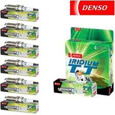 6 Denso Iridium TT Spark Plugs for MAZDA 6 2003 V6-3.0L
