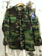 South Korean Army Combat Smock Jacket Woodland Pattern Asia Military Issue