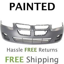 Fits: 2004 2005 2006 Dodge Stratus Sedan Front Bumper W/O FOG PAINTED CH1000407
