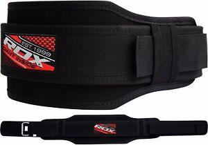RDX Gimnasio Cinturón Cuero Lumbar Fitness Entrenamiento Musculacion Gym Belts