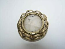 Antique Victorian Swivel Mourning Brooch Pin