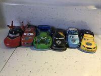 Disney Pixar Cars Diecast 1:43 Bundle X6 Take Flight Lightning Mcqueen Large