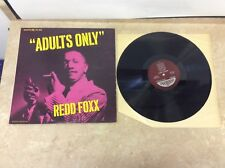"Redd Foxx - Adults Only DTL 840 12"" Record LP Tested! Works! Pics!"